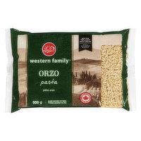 Western Family - Pasta - Orzo, 900 Gram