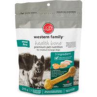 Western Family - Dog Treats - Premium 3 Ingredient Bones Medium