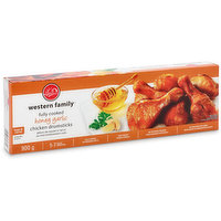 Already fully cooked - just heat & serve! 5-7 drumsticks. No artificial colors, or preservatives. Keep frozen.