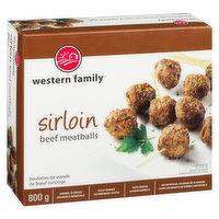Western Family - Meatballs Sirloin