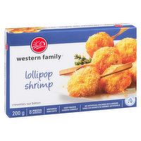 8 pieces of Ocean Wise shrimp. No artificial colors or flavors. Uncooked & keep frozen.