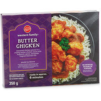Western Family - Butter Chicken Entree with Basmati Rice