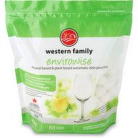Western Family - Envirowise Dish Pouches - Lemon