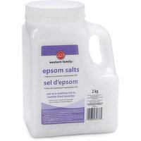 Western Family - Epsom Salts Jug, 2 Kilogram