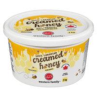Western Family - 100% Canadian Creamed Honey