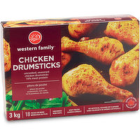 Seasoned & uncooked. 16% meat protein. No artificial colors or preservatives. Approximately 18 pieces.