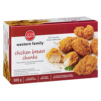 Western Family - Chicken Breast Chunks