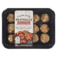 Save-On-Foods - Italian Style Meatballs-Spicy Italian & Mozzarella Cheese, 454 Gram
