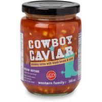 Western Family - Cowboy Caviar Salsa - Medium, 340 Millilitre