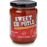 Western Family - Sweet Chipotle Salsa  - Medium, 340 Millilitre