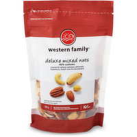 Western Family - Deluxe Mixed Nuts - 40% Cashews, 300 Gram