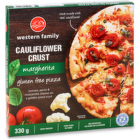Western Family Western Family - Pizza - Margherita on Cauliflower Crust, 330 Gram