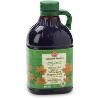 Western Family - 100% Pure Maple Syrup, 946 Millilitre
