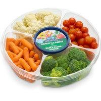Save-On-Foods - Veggie Tray with Dip - Large, 1.71 Kilogram