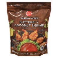 Includes sweet chili sauce. No artificial colours or flavours. 35+ pieces. 500g shrimp plus 2x90g sauce. Ocean Wise.