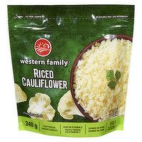 Western Family - Riced Cauliflower, 340 Gram