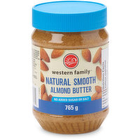 Western Family Western Family - Almond Butter - Natural Smooth, 765 Gram