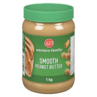 Western Family - Smooth Peanut Butter