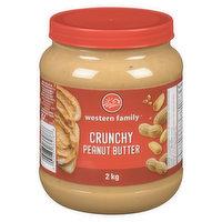 Western Family - Peanut Butter - Crunchy