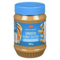 Western Family - Peanut Butter - Smooth, Light, 500 Gram