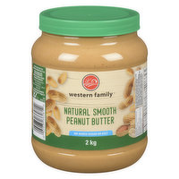 Western Family - Peanut Butter - Natural Smooth