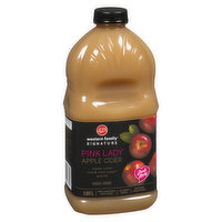 Made with 100% Pink Lady apples. Not from concentrate. No sugar added. Available while quantities last.