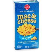 Western Family - Mac & Cheese - Original, 225 Gram