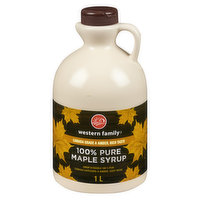 Western Family - Pure Maple Syrup, 1 Litre
