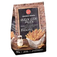 Western Family - Quick Cook Fries, 650 Gram