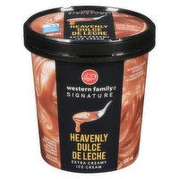 Western Family - Dulche de Leche Ice Cream, 500 Millilitre