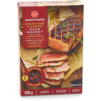 Western Family Western Family - Sous-Vide Cooked Duck Magret, 330 Gram