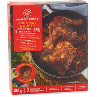 Western Family Western Family - Sous-Vide Cooked 2 Portuguese Chicken Legs with Piri-Piri, 870 Gram