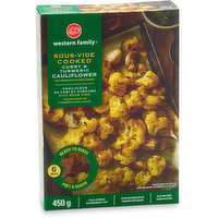 Western Family Western Family - Sous-Vide Cooked Curry & Turmeric Cauliflower, 450 Gram