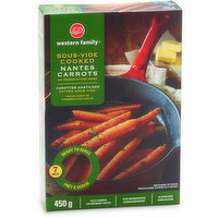 Western Family Western Family - Sous-Vide Cooked Nantes Carrots, 450 Gram