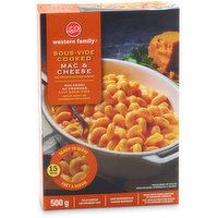Western Family Western Family - Sous-Vide Cooked Mac & Cheese, 500 Gram