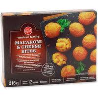 Western Family - Mac & Cheese Bites, 216 Gram