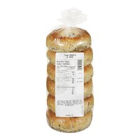 Bake Shop - Flax Bagels, 6 Each