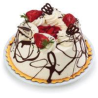 Bake Shop - Whipped Cream Iced Strawberry Angel Food Cake, 940 Gram