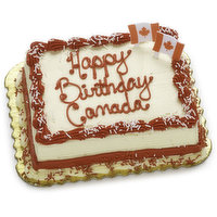 Classically delicious. Moist, rich sponge cake is filled and iced with a traditional French Buttecream style icing. Custom creations available by special order in your notes to shopper.