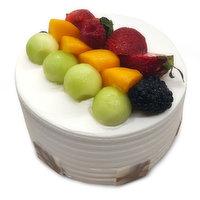 N/A - 6in Fresh Fruit Cake, 1 Each