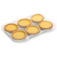 Baked Fresh Daily - Egg Tarts, 6 Each