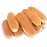 Bake Shop - Hot Dog Buns White, 8 Each