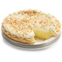 Hand Crafted Sweet Angel-Flake Coconut in a Delicate Vanilla Cream Topped with Whipped Cream Blend and Toasted Coconut.
