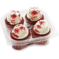 Premium Premium - Red Velvet Cupcakes, 4 Each
