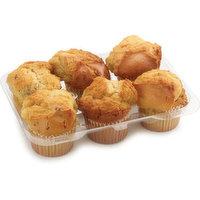 Bake Shop - Muffins - Banana Nut, 6 Each