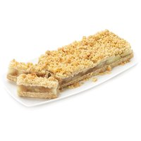 Loads of crisp apples, cinnamon, nutmeg and other spices have been added to this tasty oatmeal cookie-like crust, topped with a crunchy golden oatmeal and coconut. 450g