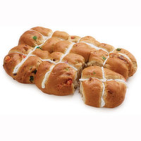 Packaged fresh, baked in house. Dense, sweet, yeast rolls, that are lightly spiced with sweet spices.