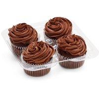 N/A N/A - Vegan Chocolate Cupcakes, 4 Each