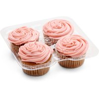 N/A N/A - Vegan Strawberry Cupcakes, 4 Each