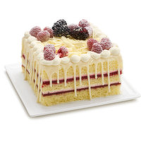 Bake Shop Bake Shop - White Chocolate Raspberry Cake, 1 Each